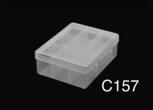 C157 9 Div T/reb Pp 13.7x10.7x5cm