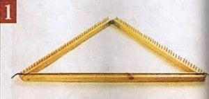 Telar Triangular Chalina 1,1 Mts