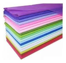 PAPEL DE SEDA PACK POR 10 UNIDADES POR COLOR