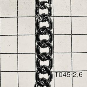 Cht0452,6 Cadena De Hierro X Mtr Alambre De 2,6 De Espesor