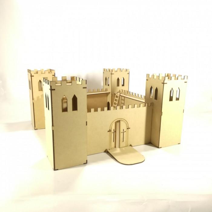 Castillo Medieval P/armar 50cm de Fibrofacil