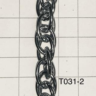 Cht031-2,0 Cadena De Hierro X Metro Alambre De 2mm De Espesor