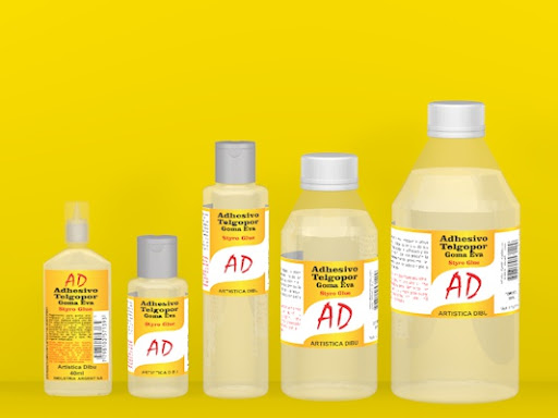 adhesivo telgopor- goma eva x 120 ml