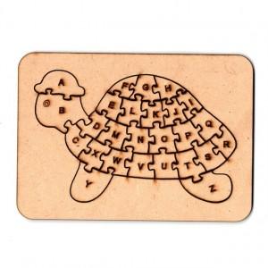 Rompecabezas Tortuga 30cm (+5años) de Fibrofacil