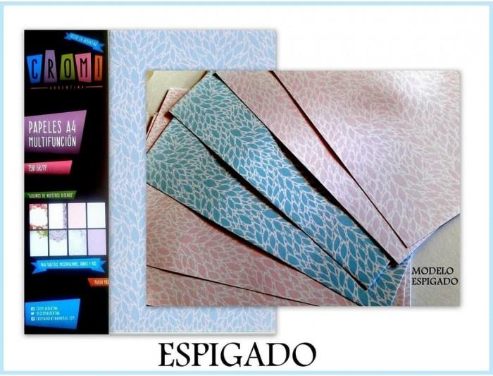 Papel A4 Multifuncion 150gr Espigado X10 U X Color