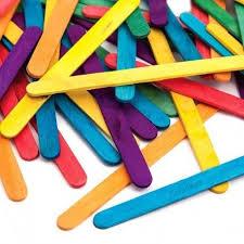 Palito P/helado X 50 Uds Color