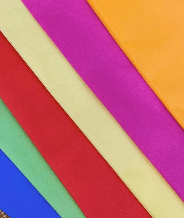 Papel Crepe Colores Lisos