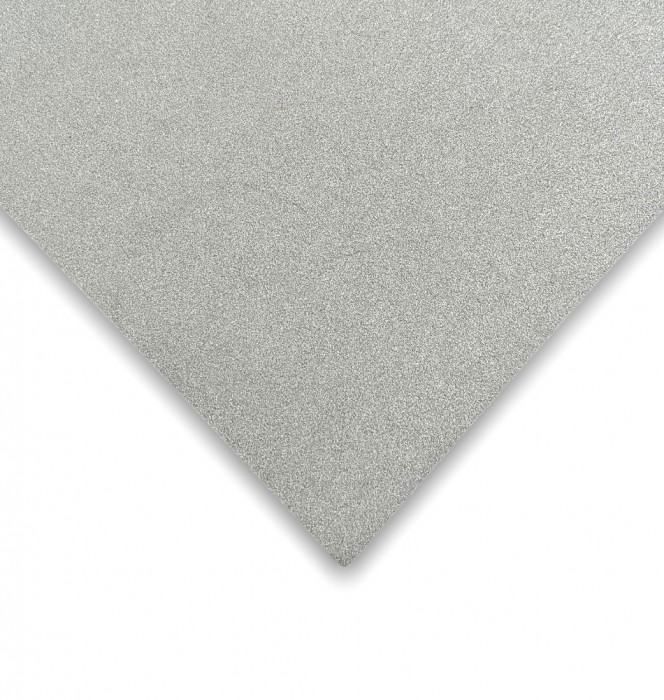 CARTULINA GLITTER PLATEADO 35X50CM