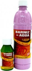 Barniz Al Agua Lasur X 500 Ml