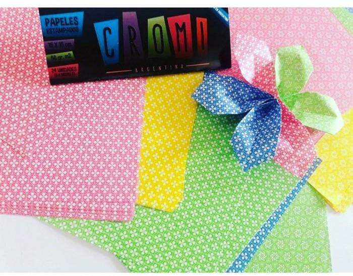 Papel Para Origami 15x15cm 24u (pack 11 A 20)