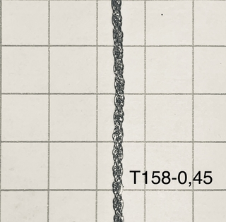 Cht158045 Cadena Hierro Turbillon 0,45 Espesor