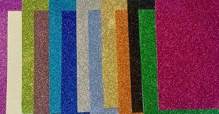 goma eva glitter A 4