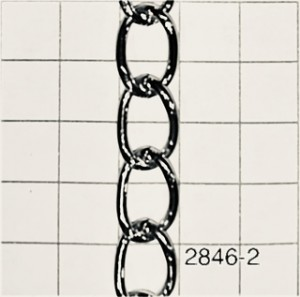 Ch28462.0 Cadena Grumete X Mtr Alambre De 2,0 De Espesor