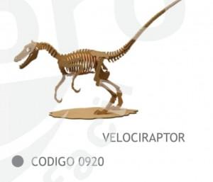 Velociraptor 56cm de Fibrofacil