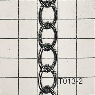 Cht013-2 Cadena De Hierro X Metro Alambre 2mm Espesor