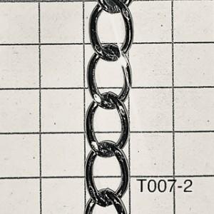 Cht07-2,0 Cadena De Hierro X Metro Alambre 2mm De Espesor
