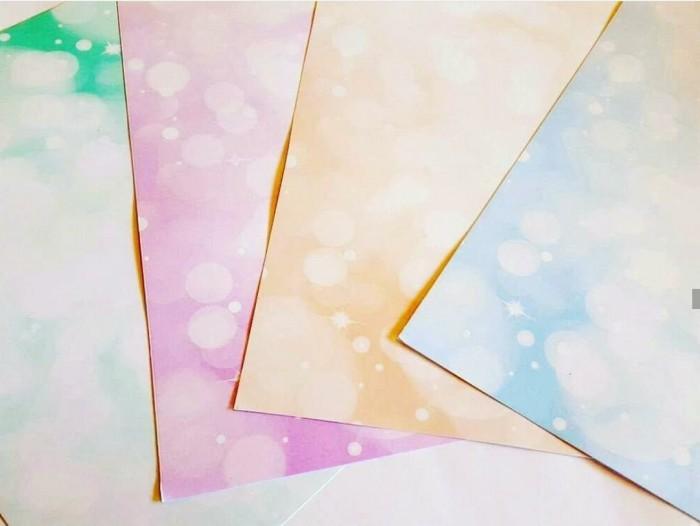 Papel A4 Multifuncion 150gr Burbujas X10 U X Color