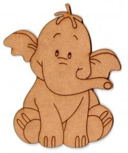 Forma Fibrofacil 10 Cm Elefante