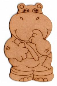 Forma Fibrofacil 10 Cm Hipopotamo