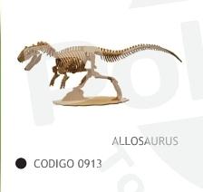Allosaurus 56cm de Fibrofacil