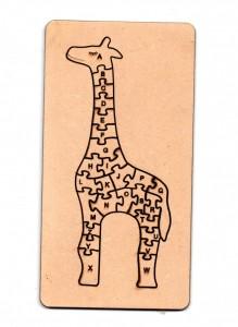 Rompecabezas Jirafa 30cm (+5años) de Fibrofacil