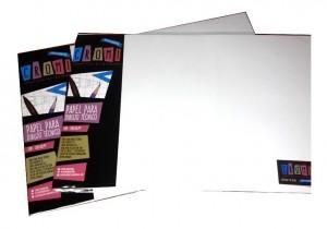 Papel Para Dibujo Tecnico 35x50cm 120gr X10